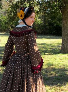 One Pattern to Rule Them All: A Civil War Era Dress Made from Simplicity 3723 (Part 2) | The Pragmatic Costumer