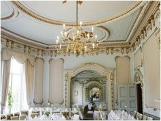 Markree Castle: Castle in Sligo -- I think this is the breakfast room