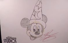 Learn to Draw: Sorcerer Mickey from 'Fantasia' at Disney's Hollywood Studios