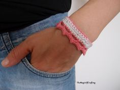 Free crochet patterns and DIY, crochet charts: Royal Bracelet/Anklet