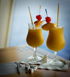 Cheers to Liberty of the Seas' mango daquiris.