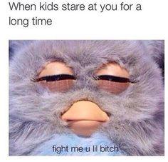 Fight me u lil bitch