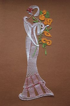 Paličkovaná krajka MP Bobbin Lace Patterns, Tatting Patterns, Loom Patterns, Embroidery Fonts, Embroidery Patterns, Machine Embroidery, Hairpin Lace Crochet, Crochet Motif, Crochet Edgings
