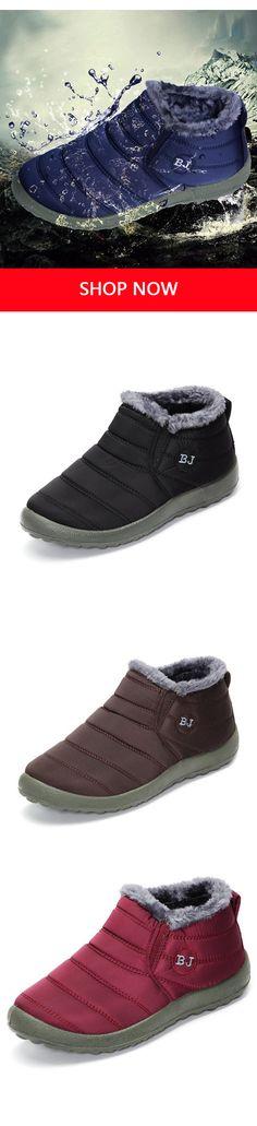 Plus Size Fur Lined Waterproof Warm Snow Boots Crochet Braids For Kids, Crochet Scarf Easy, Crochet Top Outfit, Crochet Summer Dresses, Slip On Boots, Shoe Boots, Baby Boy Booties, Warm Snow Boots, Cute Shoes