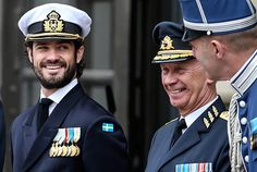 kunghaset.se:  Swedish National Day, June 6, 2015-Prince Carl Philip
