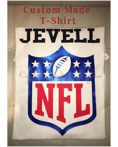 Custom Made T-Shirt  #nfl #custommade #tshirt #football #footballfan #customtshirt #personalized #cynthiascraftsinvirginia