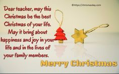 Merry Christmas Wishes Beautiful Merry Christmas 2018 Wishes For Friends Family Cards Funny Christmas Wishes Messages Quotes Images For BF GF Clients Christmas Wishes For Teacher, Merry Christmas Wishes Quotes, Best Merry Christmas Wishes, Christmas Humor, Christmas Fun, Wishes For Husband, Wishes For Friends, New Year Wishes, Day Wishes