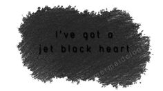 Jet Black Heart lyric shirt // #5SecondsOfSummer #5SOS  #MichaelClifford #AshtonIrwin #LukeHemmings #CalumHood #ShesKindaHot #JetBlackHeart
