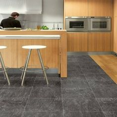 Find This Pin And More On Kitchen Design. Black Laminate Kitchen Flooring  ...
