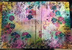 Amazing Art Journal cover!