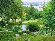 Landscape at Lubra Bend. Design Phillip Johnson