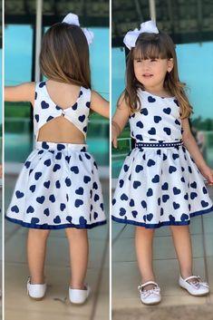 Kids Summer Dresses, Little Girl Dresses, Girls Dresses, Kids Dress Wear, Kids Gown, Girls Fashion Clothes, Kids Fashion, Smocked Baby Dresses, Cotton Frocks For Kids