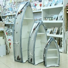 Boat shaped bookcases how to diy download pdf blueprint uk us ca the mediterranean style home accessories curio cabinets three piece wooden display cabinet small boat bookcase cabinet storage c malvernweather Gallery
