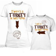 361e8223 What a great way to announce your pregnancy! Our Thanksgiving baby  announcement shirts is a funny and clever way to announce your pregnancy!