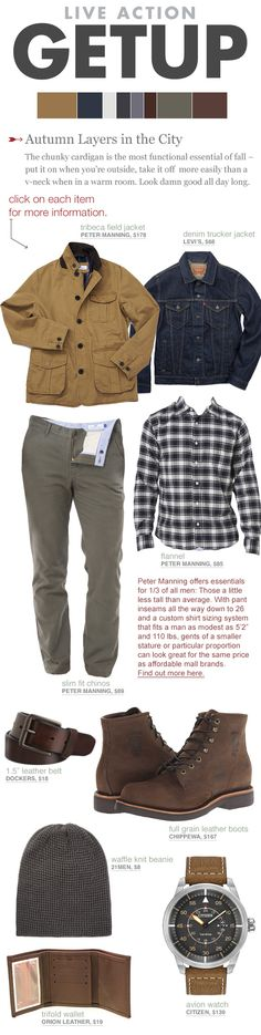 Fall Casual Style for Short Men