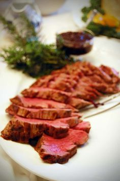 Filet of Beef with fig sauce