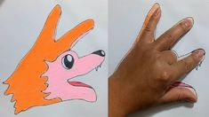 This Content To Suit Your Needs If You Love drawing tip and tricks Don't Ignore These Tips Easy Animal Drawings, Easy Drawings For Kids, Drawing For Kids, Cool Drawings, Hand Art Kids, Easy Art For Kids, Easy Animals, Animals For Kids, Drawing Projects