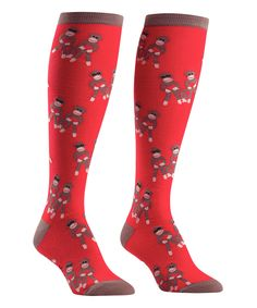 Red Cherry Crazy Socks Casual Socks Funny For Sports Boot Hiking Running Etc.