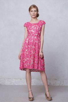 pink spring dress for women