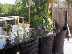 Terassiprojektia 2016 | Tohkeissaan Outdoor Furniture Sets, Outdoor Decor, Patio, Home Decor, Decoration Home, Terrace, Room Decor, Porch, Interior Decorating