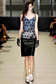Balenciaga RTW A/W 2012/13.  Model - Maria Bradley.