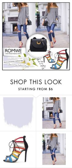 """""""ROMWE 7/10"""" by melisa-hasic ❤ liked on Polyvore featuring Post-It"""
