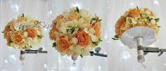dekoracje ślubne, bukiet ślubny, kryształki, diamenty