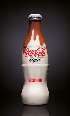If It's Hip, It's Here: Coca-Cola Light Gets Dressed By Another Designer, Karl Lagerfeld.