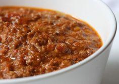 Authentic bolognese ragù (bolognese sauce)