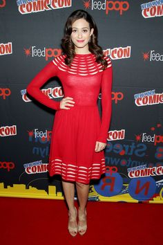 Emmy Rossum chats about Ridley's power of persuasion and shooting the supernatural elements of Beautiful Creatures at NYC Comic-Con.