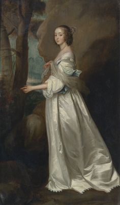 AFTER SIR ANTHONY VAN DYCK PORTRAIT OF FRANCES CRANFIELD, LADY BUCKHURST (1622–1687), LATER COUNTESS OF DORSET