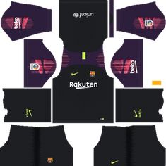 Barcelona Goalkeeper Away Kit Dream League Soccer Kits URL Barcelona Football Kit, Barcelona Third Kit, Barcelona 2018, Barcelona Jerseys, Barcelona Soccer, Juventus Goalkeeper, Goalkeeper Kits, Soccer Kits, Football Kits