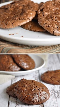 Delicious Cookie Recipes, Easy Cookie Recipes, Yummy Cookies, Brownie Recipes, Dessert Recipes, Yummy Food, Ginger Cookies, Sugar Cookies, Cake Recipes