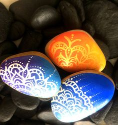 40 Creative Ideas for Making Painted Rocks - DIY Projects for Making Money - Big DIY Ideas