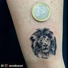 Afbeeldingsresultaat voor small lion tattoo