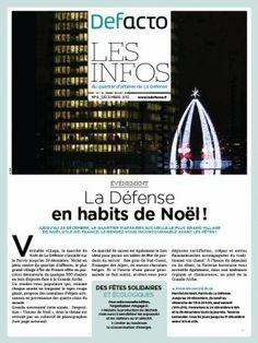 Magazine : Defacto Les Infos N°6 | Defacto - Quartier d'affaires de la Défense