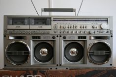 Sharp Vintage BoomBox