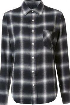 R13 Checked Button Down Shirt https://modasto.com/r13/kadin-ust-giyim-gomlek-bluz/br23016ct4