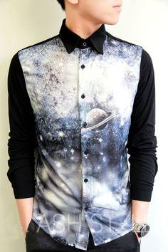 3D printing galaxy shirts for men Mais
