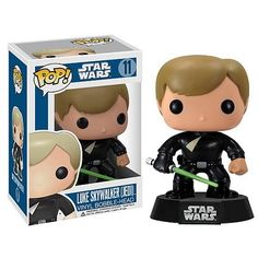 Star Wars Jedi Luke Skywalker Pop Vinyl Bobble Head http://popvinyl.net #funko #funkopop #popvinyls