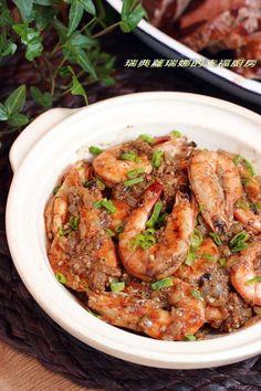 奶油香蒜胡椒蝦