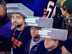 """Chicago Bears """"Cheese Graters"""""""