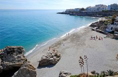 Spain has over miles of coastline, but many travelers, when they think about Spanish beaches, envision one thing and one thing only: the Costa del Sol. Andalusia Spain, Beach Holiday, Beach Photos, Places To Go, Spanish, Europe, World, Water, Beaches