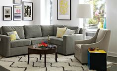 I love the west elm Living Room Looks on westelm.com