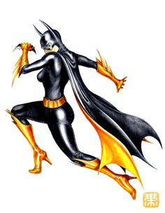 Batgirl by Keatopia
