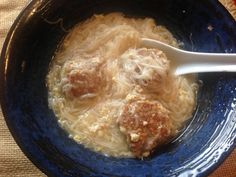 How to feed children who are picky eaters: Sabaw ng Miswa: Misua Soup with Meatballs on #FilipinoFood http://asianinamericamag.com
