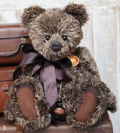 Charlie Bear Guy Teddy Bear Cottage - Collectable Charlie Bears