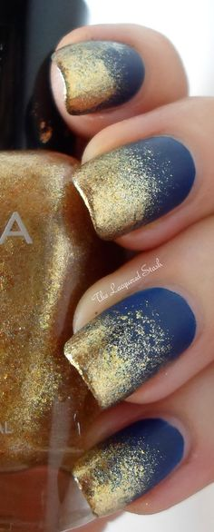 Zoya Ziv is great for creating a frosted tip mani! TheLacqueredStash.blogspot.com