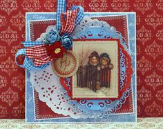 Dt work for Papirdesign. Christmas card made with new collections 2014.