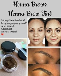 """History of eye makeup """"Eye care"""", put simply, """"eye make-up"""" happens Natural Brows, Natural Henna, Natural Eye Makeup, Brow Tinting Kit, How To Do Brows, Henna Eyebrows, Instagram Brows, Feather Brows, Makeup Looks For Brown Eyes"""